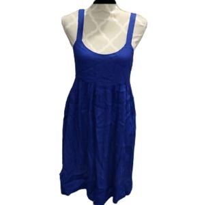 Joie bright blue dress